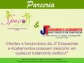 Parceria Spaço JT & JT Esquadrias